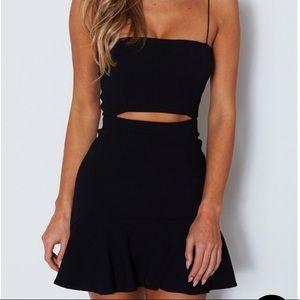 White Fox Boutique Dresses - WHITE FOX- Just My Type Mini Dress in Black